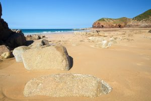 Picturesque Greve de Lecq Beach, Jersey